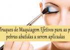 5 Truques de Maquiagem Efetivos para as pálpebras abatidas a serem aplicadas
